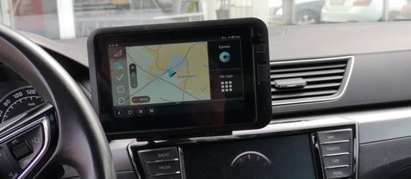 Webfleet Navigation - Driver Terminals - 8375_skoda
