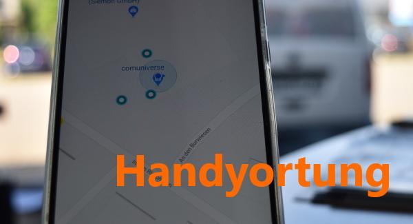 Info: Handyortung