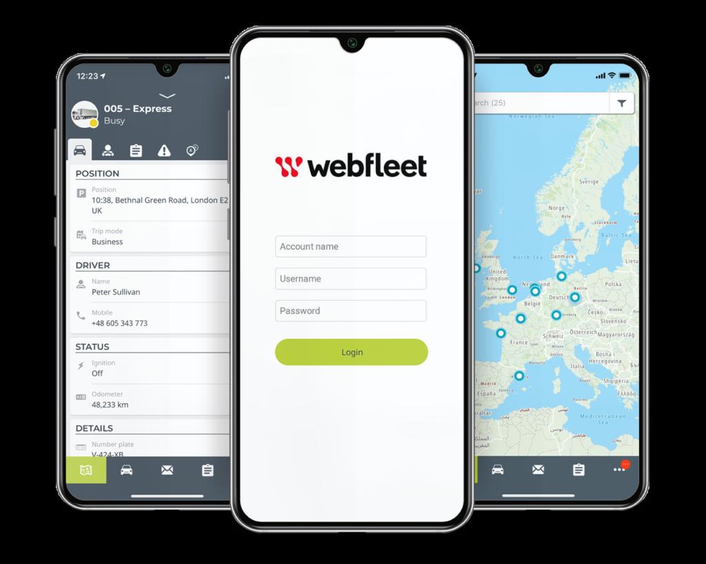 NEU: Webfleet Mobile App