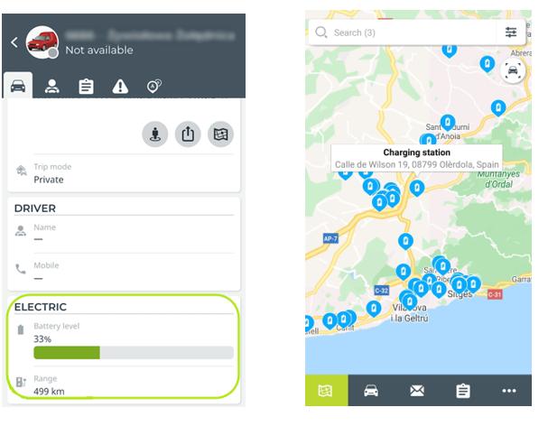 Mobile - App | Elektroauto intregation