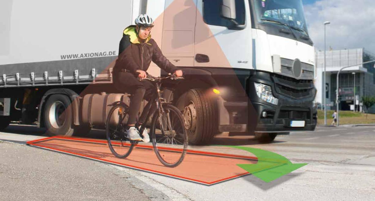 Abbiegeassistent – cleveres Sicherheitsfeature für den LKW